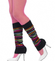 80's Stiped Legwarmers (45642)